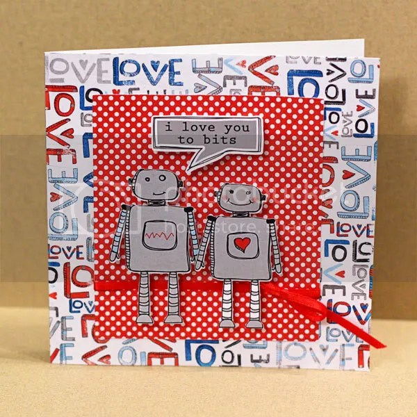 I Love You to Bits card
