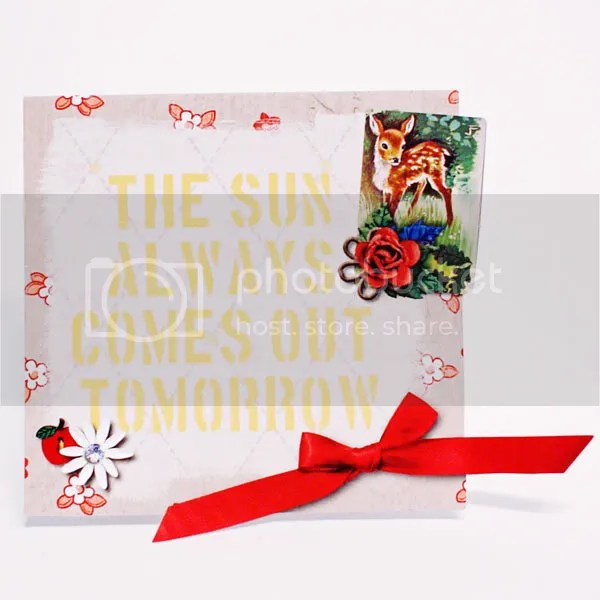 The Sun Always Comes Out Tomorrow card