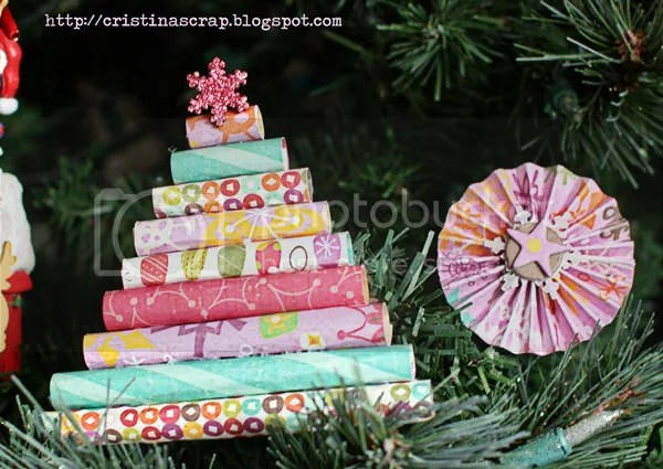 Crate Paper ornaments