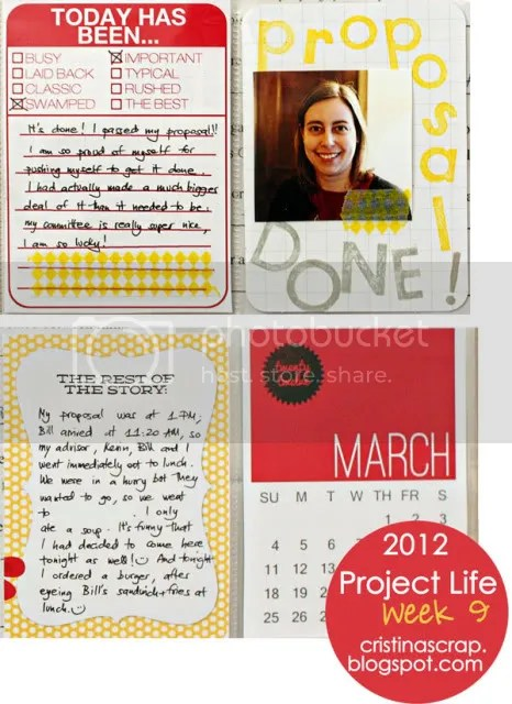 Project Life 2012 - Week 9