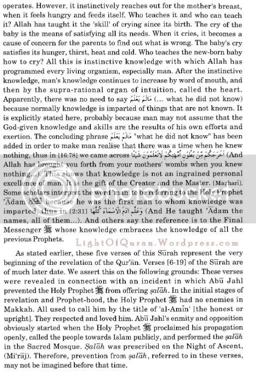Surah Al-Alaq 96-10