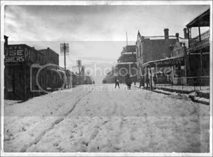 Lithgow main st 1910