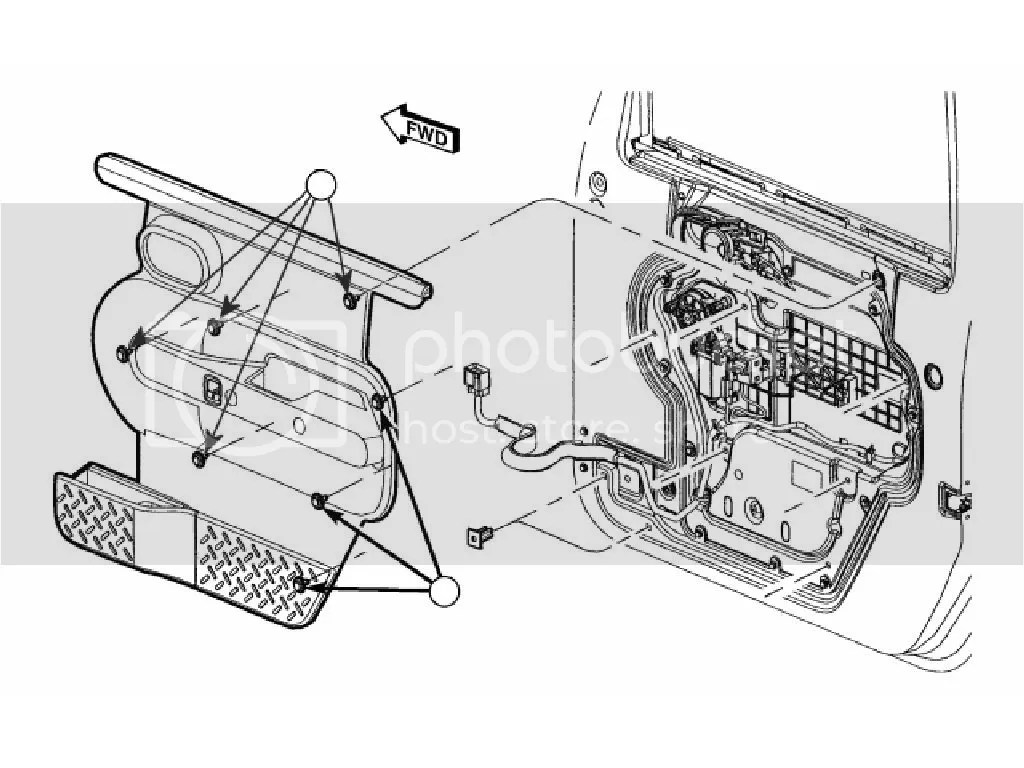 Jk Front Door Panel Disassembly Guide