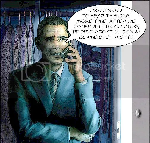 Obama Blame Bush