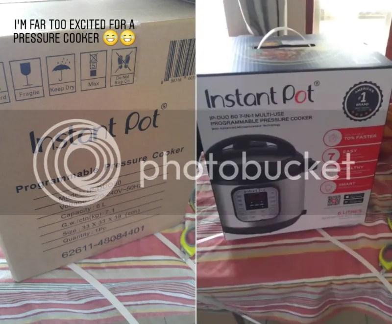 Instant Pot unboxing
