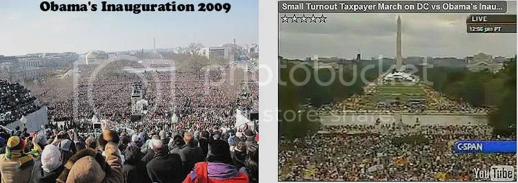 2009 Presidential Inauguration - Right Click picture, click View Image to see entire picture.