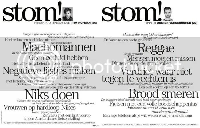Stom, Linda Magazine