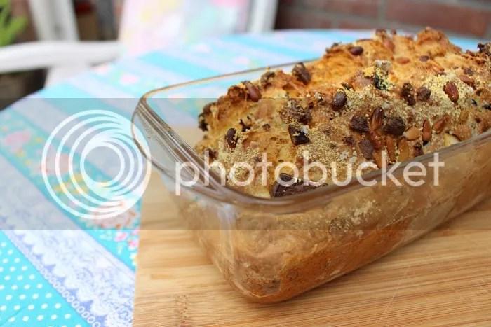 Hartige cake met feta