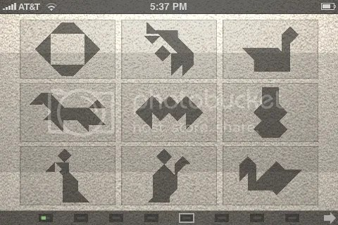 puzzle menu