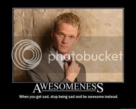 Awesomeness Barney Stinson