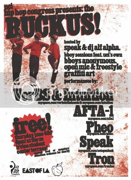DJ Alf Alpha @ Ruckus presented by Hip Hop Congress UC Irvine
