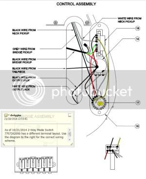 Fender® Forums • View topic  Richie Kotzen Tele wiring diagram or info