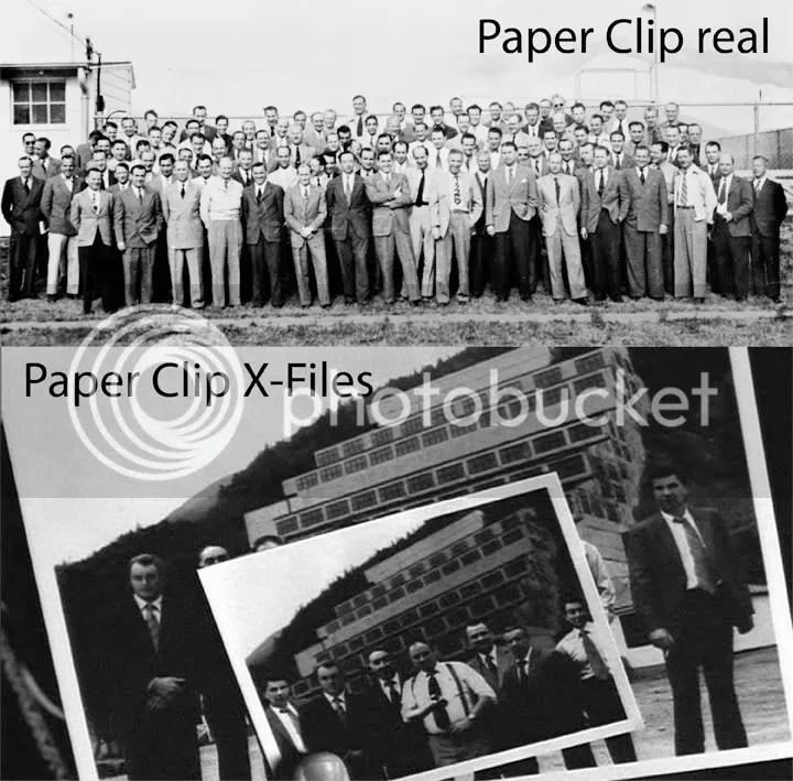 Nos tomarian unas 20 temporadas haber recreado la original operación Paper Clip. Ni en ese plazo hubiesemos dado con la identidad de todos.