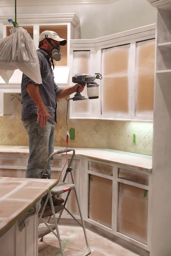 Image Result For Painting Kitchen Cabinets