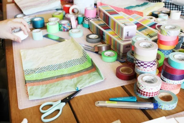 Pretty Things - Maksing tape workshops