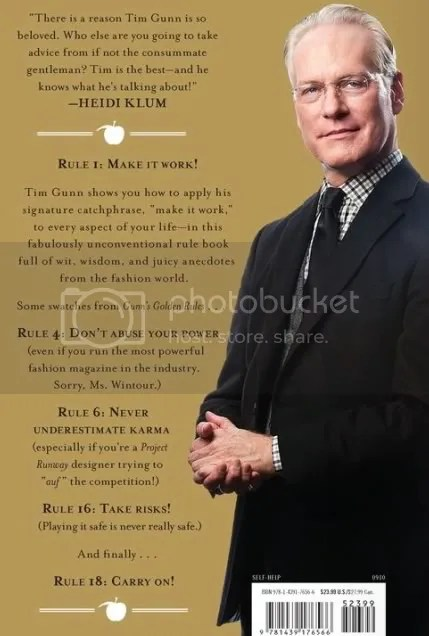 Tim Gunn Golden Rules