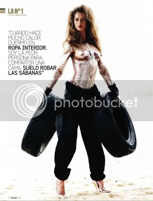 Gisele DT Magazine