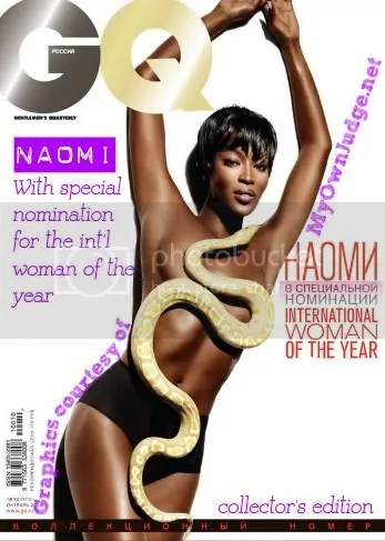 MyOwnJudge - Naomi Campbell GQ Cover