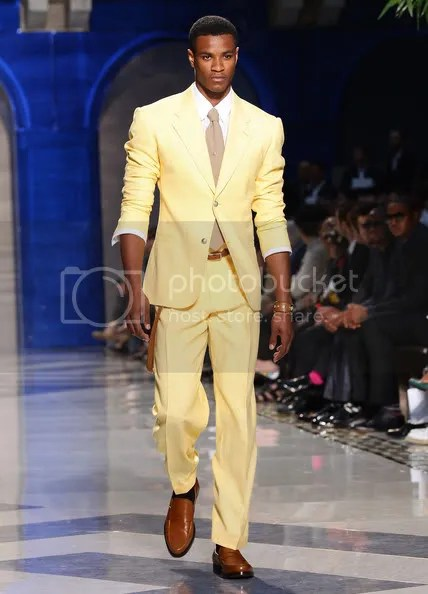 MyOwnJudge Versace Fashion Show Menswear