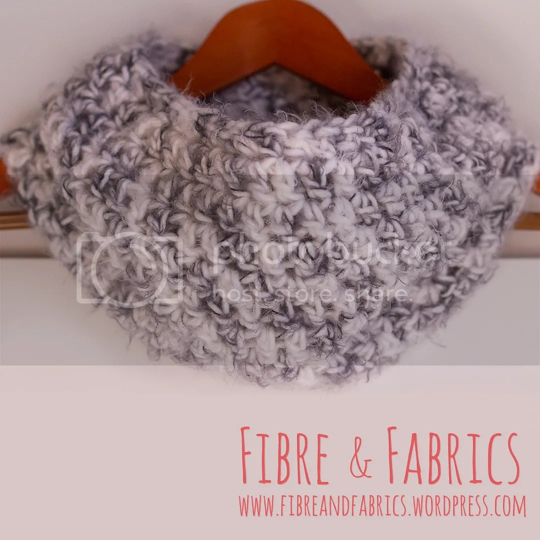 Luxe Crochet Thick Infinity Scarf • Super Soft Seamless Chunky #crochet Scarf • Made to Order on @Etsy - @fibreandfabrics