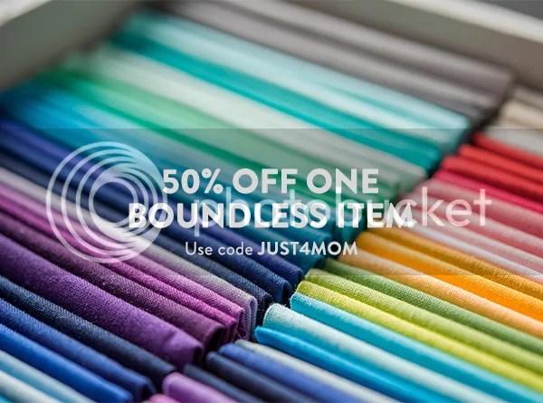 50% off one Boundless item exp 5/14 at Craftsy Use code JUST4MOM → http://www.shareasale.com/u.cfm?d=415081&m=29190&u=1306778 afflink