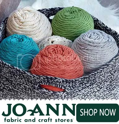 Affiliate Link → Shop awesome quality Yarn at Joann.com!