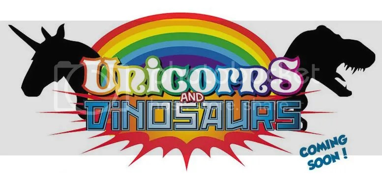 Unicorns and Dinosaurs