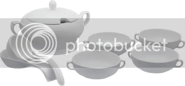 aparelho de sopa da linha bazaar, da Oxford