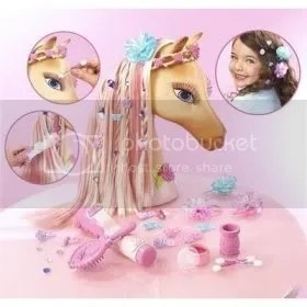 Tawny, Barbie Horse Head