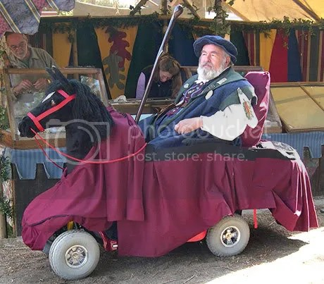 Going to the Ren Faire in style