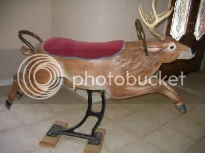 German deer by Carl Muller, ca. 1900, $3695