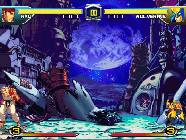 Vs Stage Background Capcom Marvel