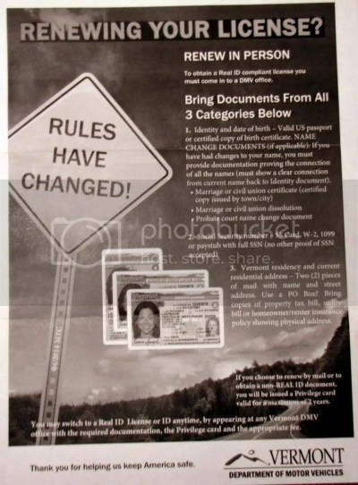 """DMV: From """"License"""" to """"Privilege"""" with a Yellow Star 