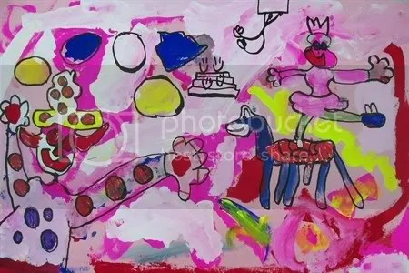 Circus Drawing by Emma (2009-10)