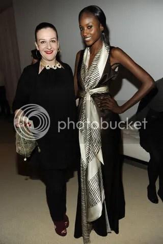Sophie Theallet and Aminata Niaria