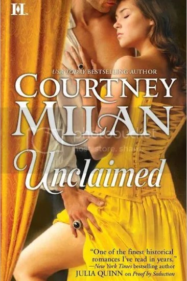 Early Review - Unclaimed (Turner #2) by Courtney Milan - For the Love of  Words
