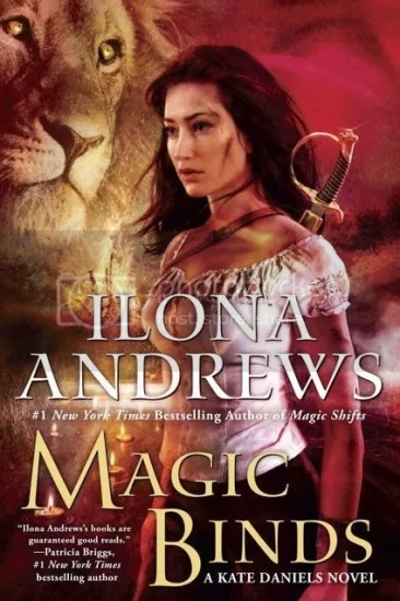 Waiting on Wednesday – Magic Binds (Kate Daniels #9) by Ilona Andrews