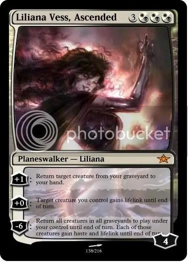Liliana Vess, Ascended