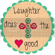 Laughter does the heart good
