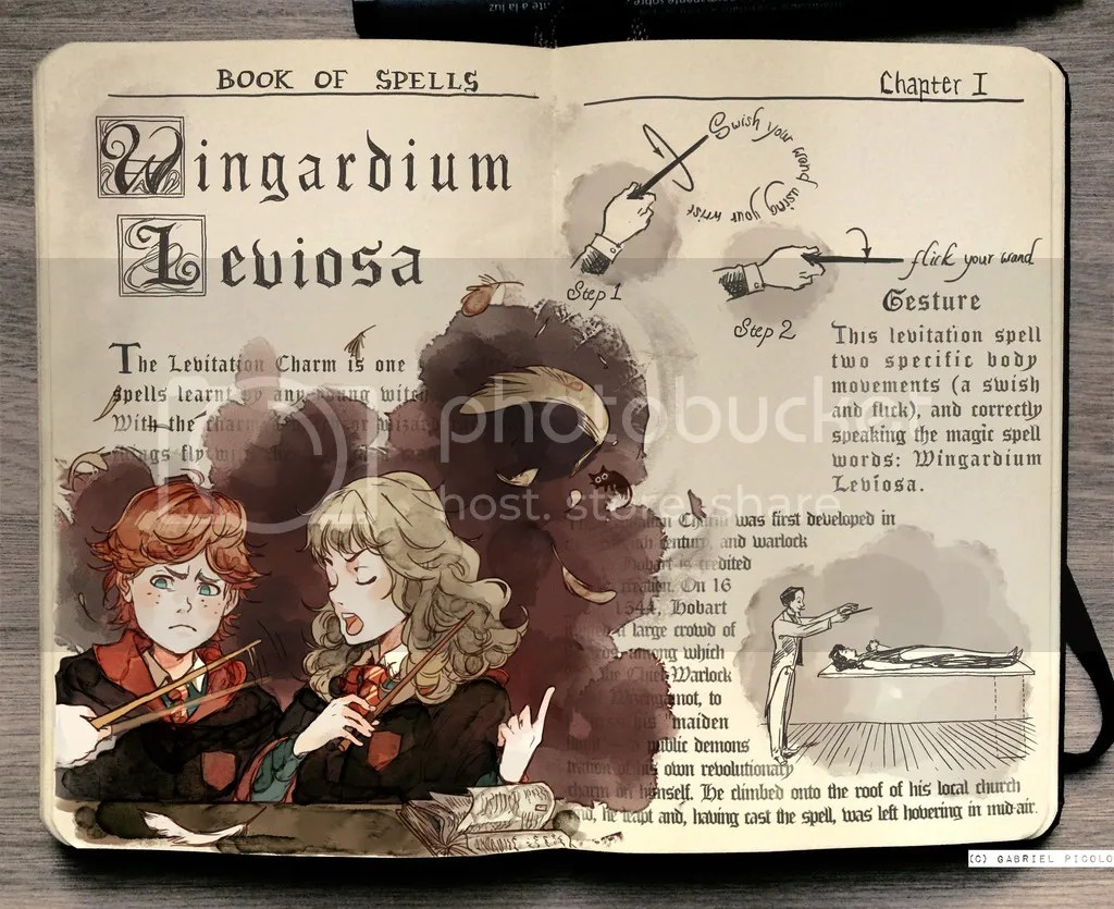 Harry Potter Sketches by Gabriel Picolo – Book Geek Musings