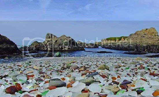 glass beach Pictures, Images and Photos