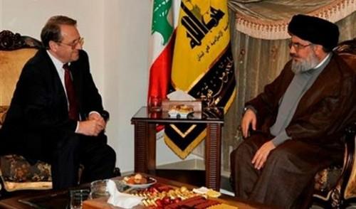 Image result for assad nasrallah