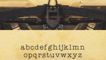 Old destroyed typewriter font 533425 - Heroturko Download