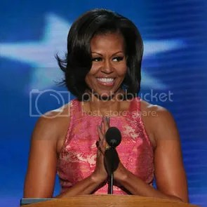 Michelle at the DNC