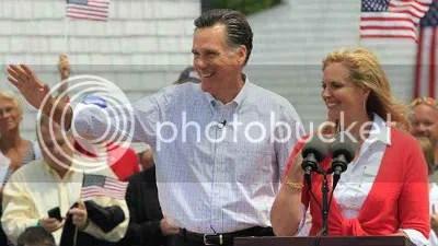Mitt Romney and wife