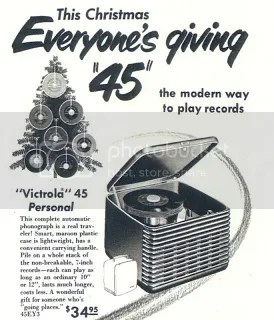 Old 45 for christmas