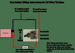 50 AMP STOP BRAKE SWITCH AC or DC WIND TURBINE GENERATOR