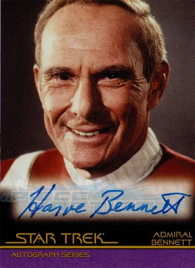 The Classic Star Trek Autograph Reference Center!: Harve ...