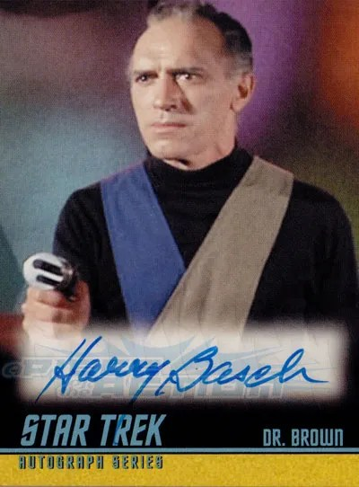The Classic Star Trek Autograph Reference Center!: Harry ...