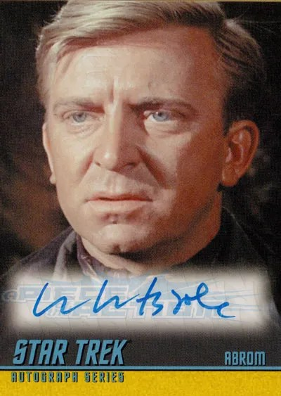 The Classic Star Trek Autograph Reference Center!: William ...
